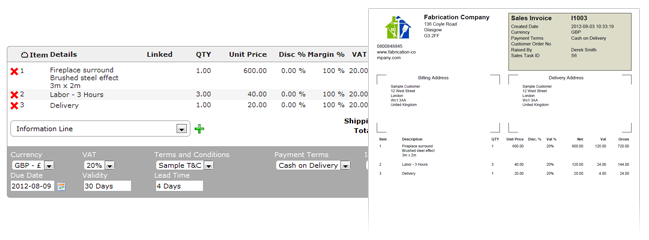 Invoice and Billing Management
