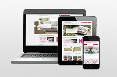Websites with responsive design adapt to any platform, be it a laptop, smartphone, or tablet