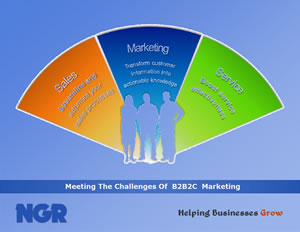 Meeting the challenges Of B2B2C marketing